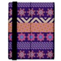 Colorful Winter Pattern Samsung Galaxy Tab 8.9  P7300 Flip Case View3