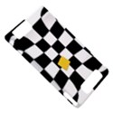 Dropout Yellow Black And White Distorted Check Motorola DROID X2 View5