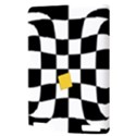 Dropout Yellow Black And White Distorted Check Kindle Touch 3G View3