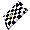 Dropout Yellow Black And White Distorted Check Apple iPad 2 Hardshell Case View4