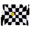 Dropout Yellow Black And White Distorted Check Apple iPad 2 Hardshell Case (Compatible with Smart Cover) View1