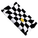 Dropout Yellow Black And White Distorted Check Apple iPad 2 Hardshell Case (Compatible with Smart Cover) View5