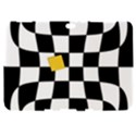 Dropout Yellow Black And White Distorted Check Samsung Galaxy Tab 8.9  P7300 Hardshell Case  View1