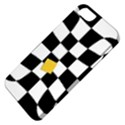 Dropout Yellow Black And White Distorted Check Apple iPhone 5 Classic Hardshell Case View4