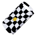 Dropout Yellow Black And White Distorted Check Samsung Galaxy S III Hardshell Case (PC+Silicone) View4