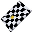 Dropout Yellow Black And White Distorted Check Apple iPad Mini Hardshell Case View4