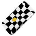 Dropout Yellow Black And White Distorted Check Apple iPhone 4/4S Hardshell Case (PC+Silicone) View4