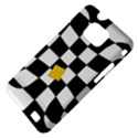Dropout Yellow Black And White Distorted Check Samsung Galaxy S II i9100 Hardshell Case (PC+Silicone) View4