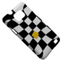 Dropout Yellow Black And White Distorted Check Samsung Galaxy S II i9100 Hardshell Case (PC+Silicone) View5