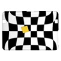 Dropout Yellow Black And White Distorted Check Kindle Fire HD 8.9  View1