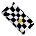 Dropout Yellow Black And White Distorted Check HTC One SU T528W Hardshell Case View5