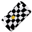 Dropout Yellow Black And White Distorted Check HTC Desire V (T328W) Hardshell Case View4