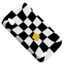Dropout Yellow Black And White Distorted Check HTC Desire V (T328W) Hardshell Case View5