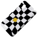 Dropout Yellow Black And White Distorted Check HTC Desire VT (T328T) Hardshell Case View4