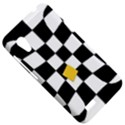 Dropout Yellow Black And White Distorted Check HTC Desire VT (T328T) Hardshell Case View5