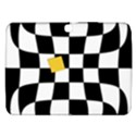 Dropout Yellow Black And White Distorted Check Samsung Galaxy Tab 3 (10.1 ) P5200 Hardshell Case  View1