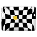 Dropout Yellow Black And White Distorted Check Kindle Fire HDX Hardshell Case View1