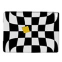 Dropout Yellow Black And White Distorted Check iPad Air 2 Hardshell Cases View1
