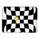 Dropout Yellow Black And White Distorted Check Samsung Galaxy Tab 4 (10.1 ) Hardshell Case  View1