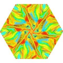 Happy Multicolor Painting Mini Folding Umbrellas
