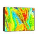 Happy Multicolor Painting Deluxe Canvas 16  x 12   View1