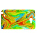 Happy Multicolor Painting Samsung Galaxy Note 1 Hardshell Case View1