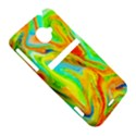 Happy Multicolor Painting HTC Evo 4G LTE Hardshell Case  View5