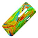 Happy Multicolor Painting HTC Evo 3D Hardshell Case  View4