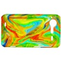 Happy Multicolor Painting HTC Incredible S Hardshell Case  View1