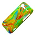Happy Multicolor Painting HTC Incredible S Hardshell Case  View4