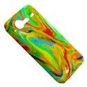 Happy Multicolor Painting HTC Incredible S Hardshell Case  View5