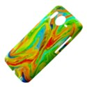 Happy Multicolor Painting HTC Desire HD Hardshell Case  View4