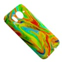 Happy Multicolor Painting HTC Desire HD Hardshell Case  View5