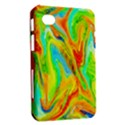 Happy Multicolor Painting Samsung Galaxy Tab 7  P1000 Hardshell Case  View2