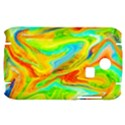 Happy Multicolor Painting Samsung S3350 Hardshell Case View1