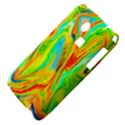 Happy Multicolor Painting Samsung S3350 Hardshell Case View4