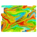 Happy Multicolor Painting Apple iPad 2 Hardshell Case View1