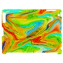 Happy Multicolor Painting Apple iPad 2 Hardshell Case (Compatible with Smart Cover) View1