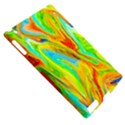 Happy Multicolor Painting Apple iPad 2 Hardshell Case (Compatible with Smart Cover) View5