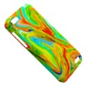 Happy Multicolor Painting HTC One V Hardshell Case View5