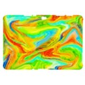 Happy Multicolor Painting Samsung Galaxy Tab 10.1  P7500 Hardshell Case  View1