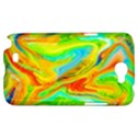 Happy Multicolor Painting Samsung Galaxy Note 2 Hardshell Case View1
