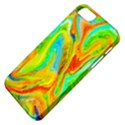 Happy Multicolor Painting Apple iPhone 5 Classic Hardshell Case View4