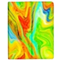 Happy Multicolor Painting Apple iPad Mini Flip Case View1