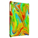 Happy Multicolor Painting Apple iPad Mini Hardshell Case View2