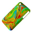 Happy Multicolor Painting Apple iPhone 3G/3GS Hardshell Case (PC+Silicone) View4