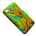 Happy Multicolor Painting Apple iPhone 3G/3GS Hardshell Case (PC+Silicone) View5