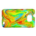 Happy Multicolor Painting Samsung Galaxy S II i9100 Hardshell Case (PC+Silicone) View1