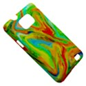 Happy Multicolor Painting Samsung Galaxy S II i9100 Hardshell Case (PC+Silicone) View5