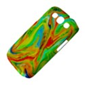 Happy Multicolor Painting Samsung Galaxy S III Classic Hardshell Case (PC+Silicone) View4